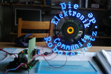 PropellerClock – Optisch beeindruckend