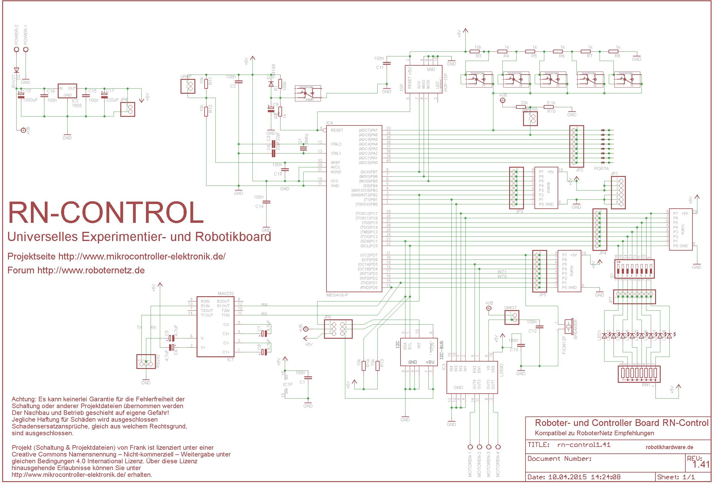 Beliebtes Universal AVR Controller Board für ...