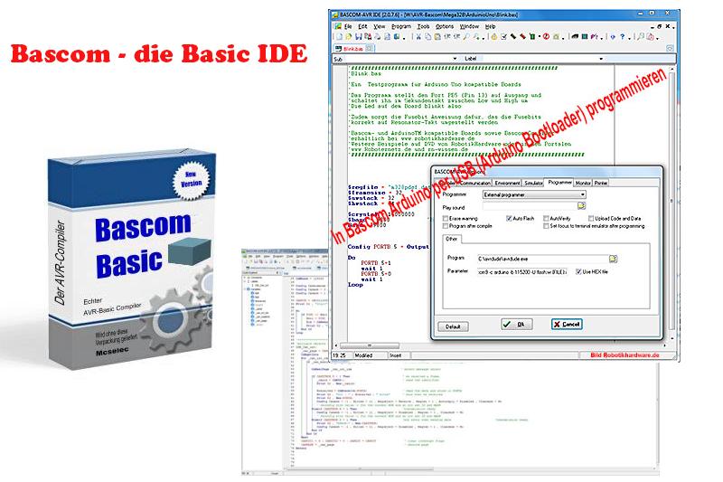 Arduino mit Bascom programmieren