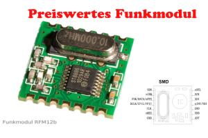 RFM12B Funkmodul