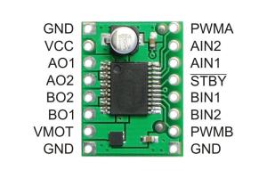 TB6612FNG Dual Motortreiber Pinbelegung