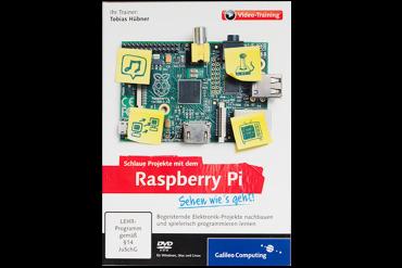 Videotraining: Schlaue Projekte mit dem Raspberry Pi