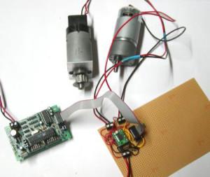 TB6612FNG Dual Motortreiber Beispielanwendung