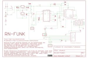 Schaltplan zu RN-Funk - Funkmodul nach RS232 Adapter