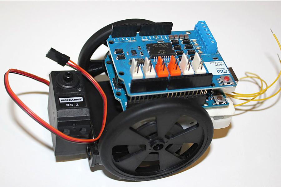 Arduino Roboter selbst gebaut