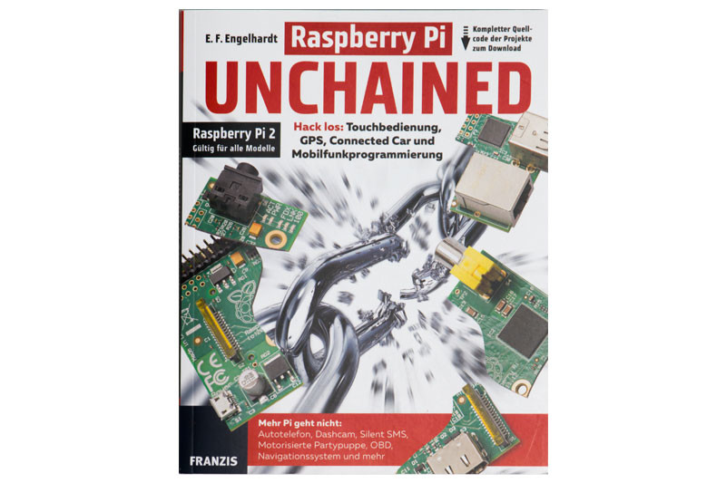 Buch Raspberry Pi Unchained