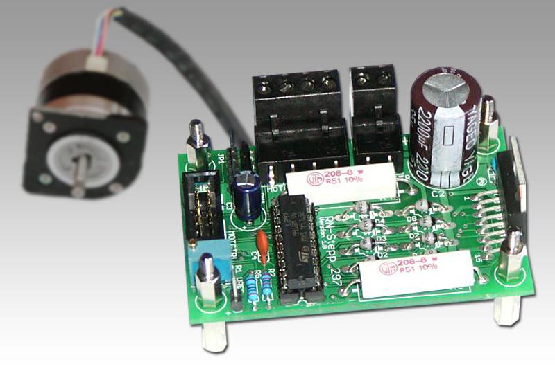 Schrittmotortreiber für Schrittmotoren mit bis zu 2A Phasenstrom