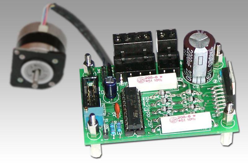 RN-Stepp297 – kompakter Schrittmotortreiber