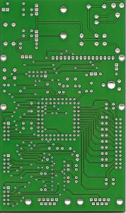 Platine für Mikrocontroller Zilog Z8 Encore Schaltung