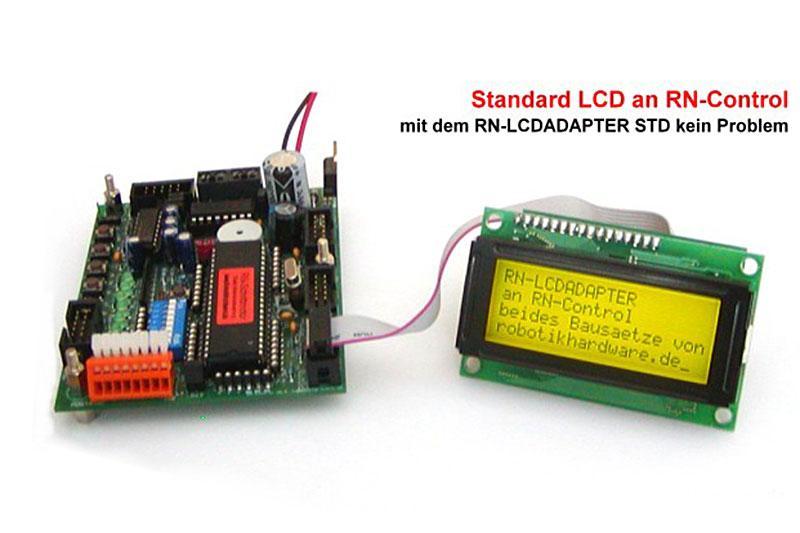 LCD an Mikrocontroller anschliessen