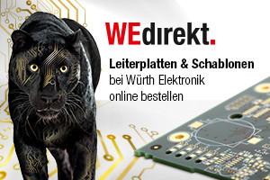 Roboternetz und mikrocontroller-elektronik.de Platinen bei WEdirekt