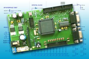 Mikrocontroller Zilog Z8 Encore Schaltung