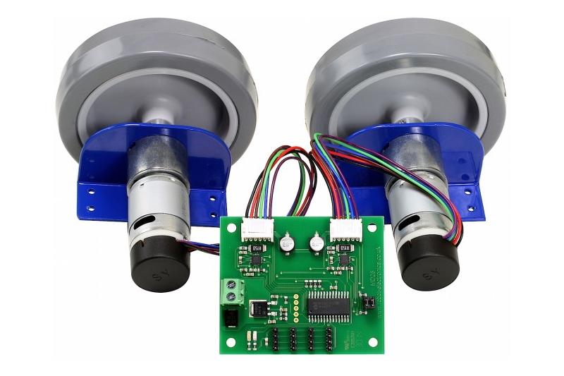 EMG30 der Getriebemotor mit eingebautem Drehgeber