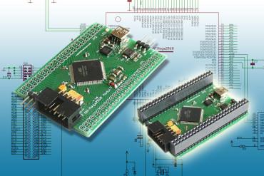 Mini Controllerboard mit Atmel ATmega2560 und USB