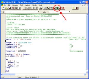 Bascom Programmer aufrufen