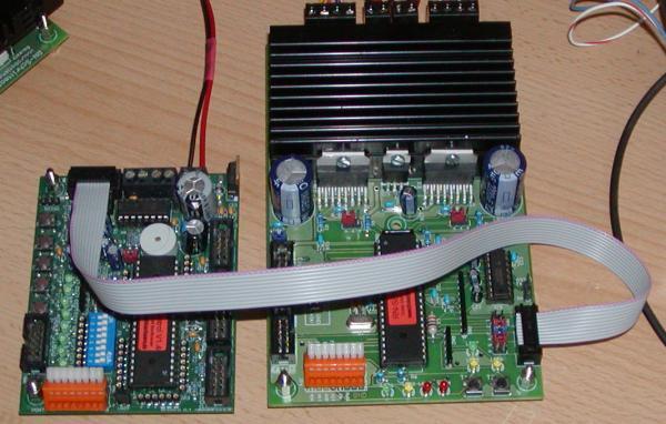 Programmierbare Schrittmotor Ansteuerung RN-Schrittmotor