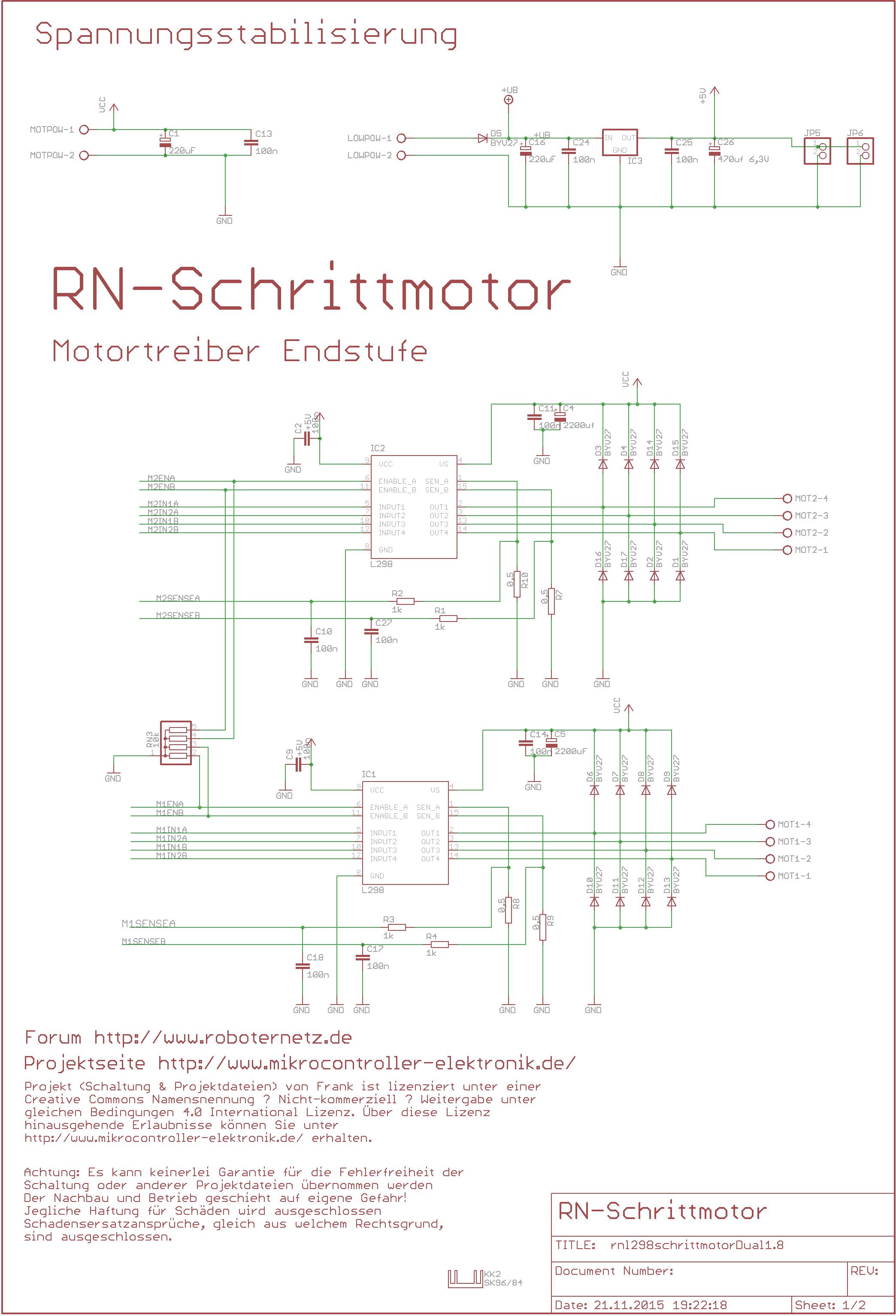 Programmierbare Schrittmotoransteuerung RN ...