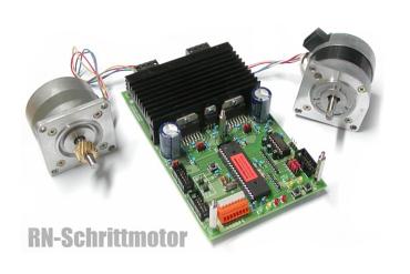 Programmierbare Schrittmotoransteuerung  RN-Schrittmotor