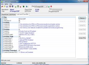 Atmel AVR Fusebits programmieren