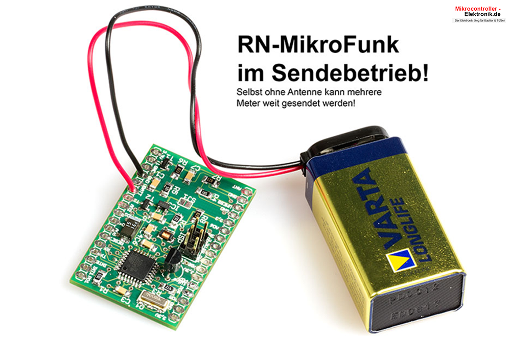 RN-MikroFunk und Funkmodul RFM12b