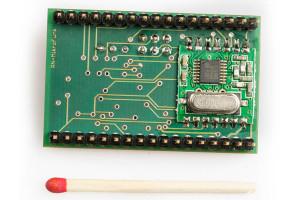 RN-MikroFunk Unterseite der leiterplatte mit Funkmodul