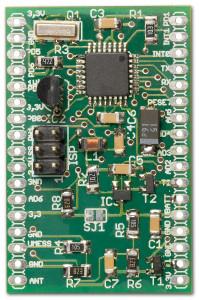 Microcontroller Board RN-MikroFunk bestückt