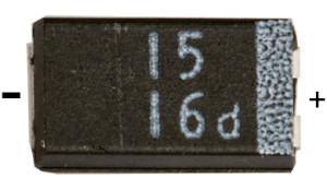 Bauteil SMD-Tantal Kondensator