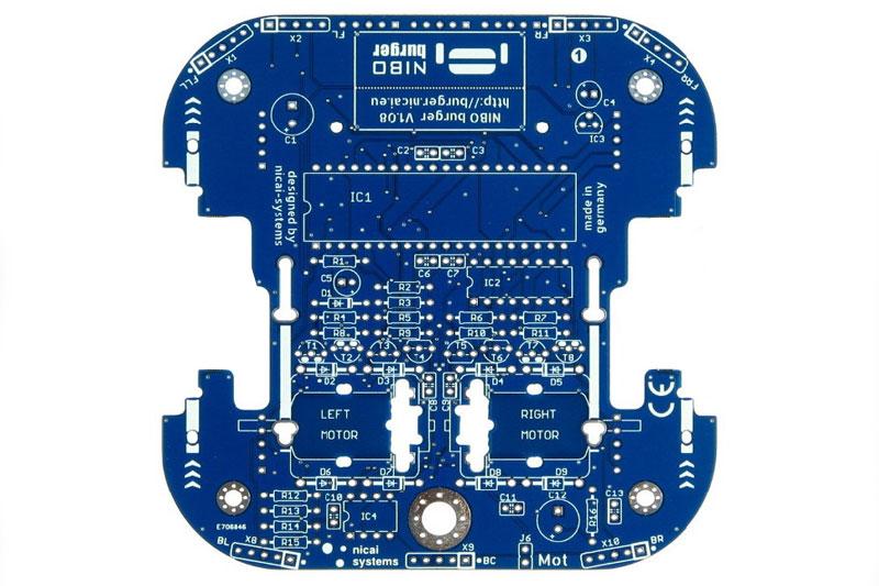 Roboter Nibo Burger Leiterplatte