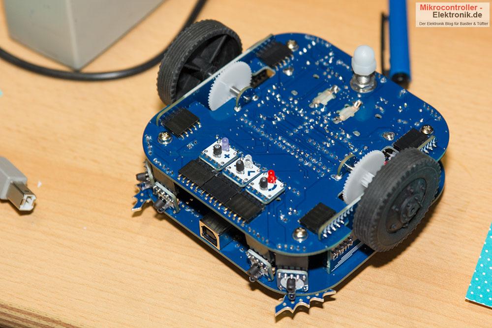 Roboter Nibo Burger untere Ansicht