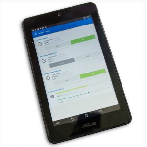 comet-dect-test-screen-fritzbox-tablet