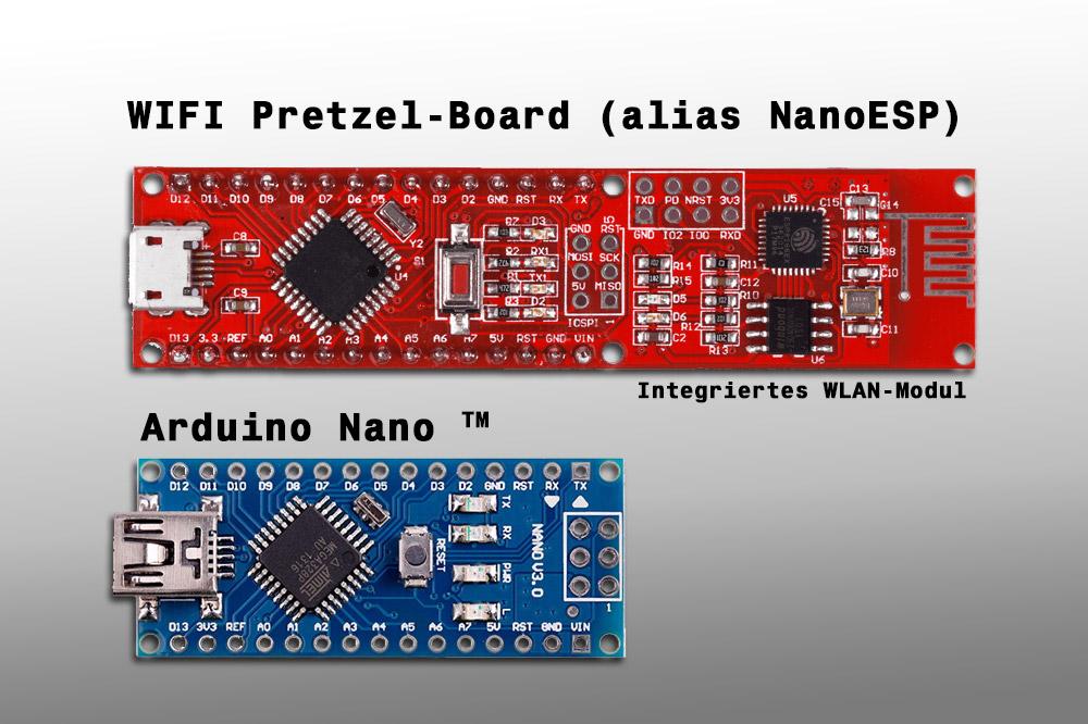 Arduino nano wlan