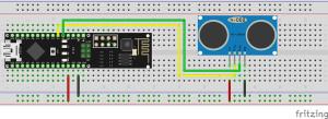 Ultraschallsensor-HC-SR04-Ultrasonic-Sensor-Pretzelboard