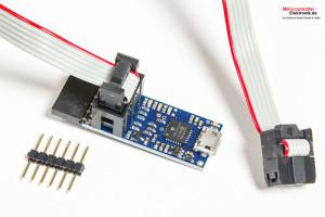 Pololu-USB-AVR-Programmer-v2-Lieferumfang