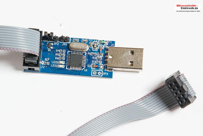USBasp-Programmer-Lieferumfang
