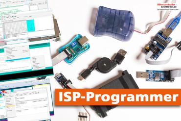 ISP-Programmer für Arduino, Bascom und AVR-Studio unter Windows 10