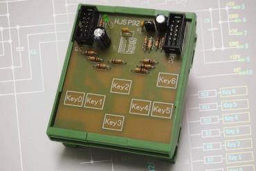 Tastenfeld ohne Tasten – Q-Touch mit dem AT42QT1070