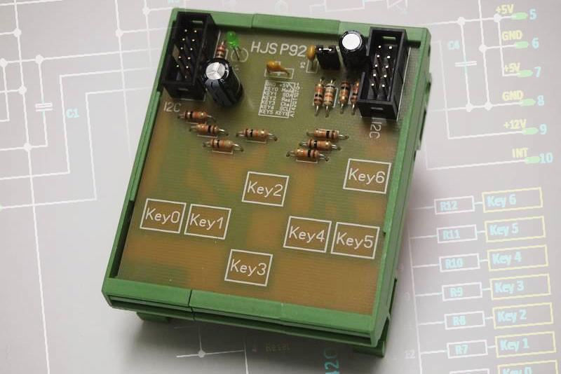 qtouch-Schaltung-chip-AT42QT1070-Modul-Titel