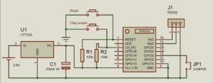 notruftaste-wifi-esp07-modul-schaltplan