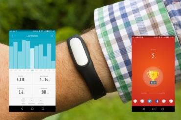 Praxistest Fitnessarmband Xiaomi-Mi-Band-1S