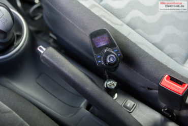 Auto Bluetooth Freisprecheinrichtung mit FM-Transmitter und MP3-Player