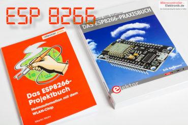 Zwei neue Bücher zum ESP8266, dem beliebten WLAN-Chip