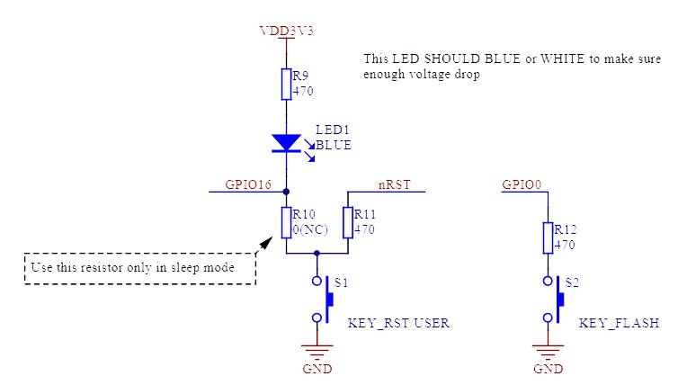 NodeMCU-Taster-Schaltplan