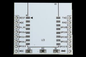 ESP12E-Adapter-Oberseite