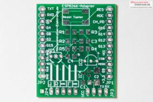 ESP12E-Adapter-Platine