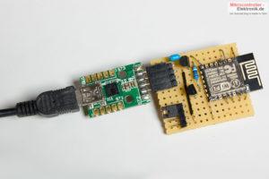 ESP12E-Modul-Lochraster-Temperatursensor-programmieren