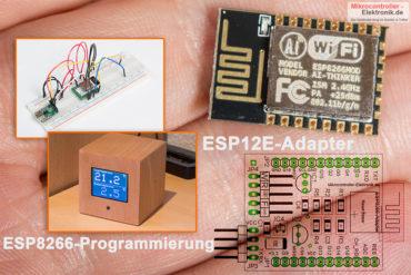 ESP12E, Einstieg mit dem ESP8266 Modul
