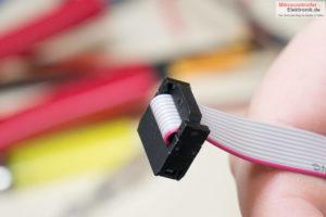 Wannen-Stift-Adapter-Angepresst