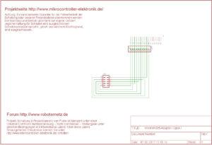Wannen-Stift-Adapter-Schaltplan