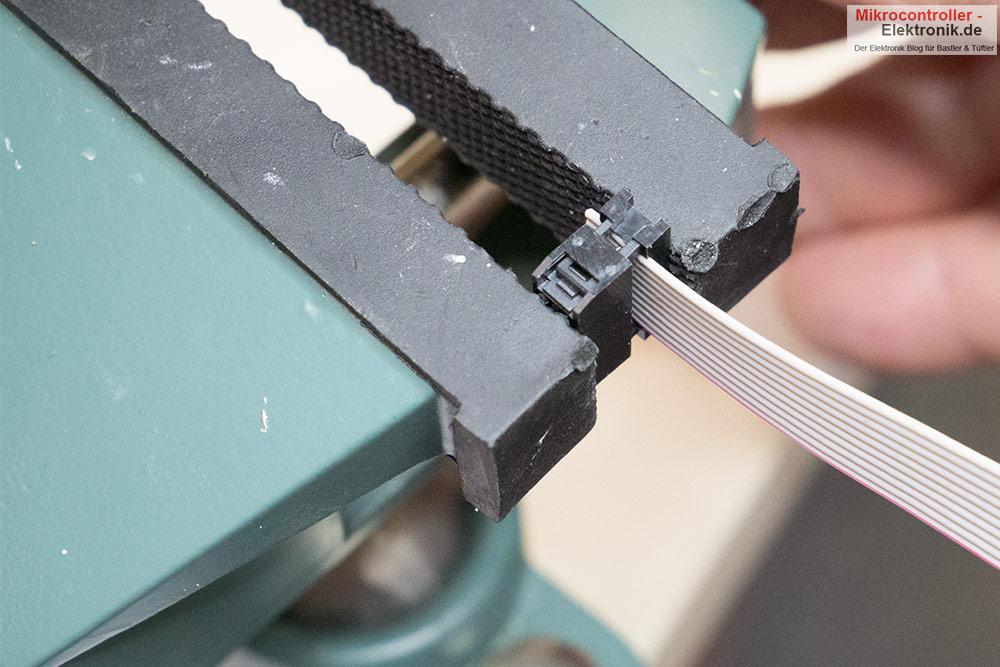 Wannen-Stift-Adapter-Schraubstock