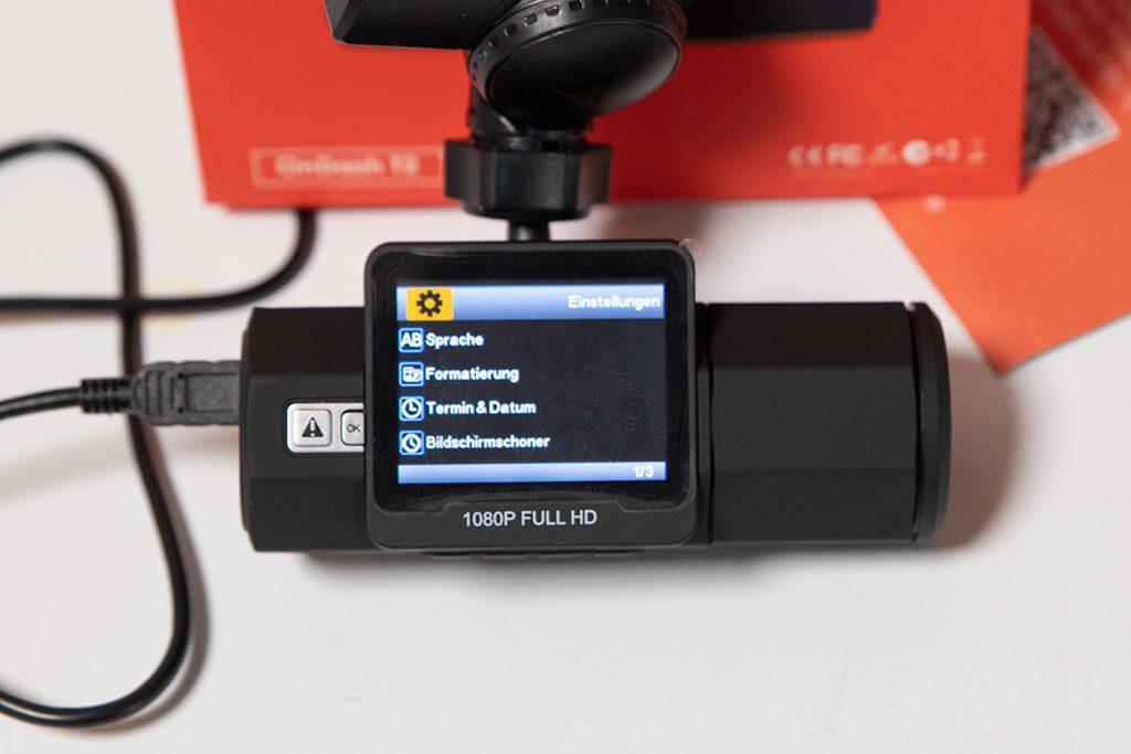 VANTRUE-T2-OBD-Dashcam-1080P-System-Einstellungen-2